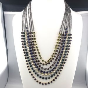 LOFT Layered Necklace NWT